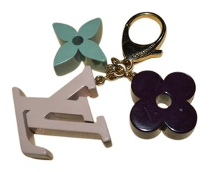 Louis Vuitton Louis Vuitton LV & Flowers Bag Charm Key Chain