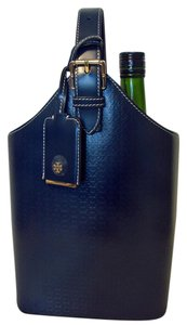 Tory Burch NWT TORY BURCH SOFT EMBOSSED T LEATHER WINE TOTE