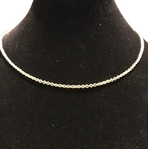 Cookie Lee gold plated chain necklace