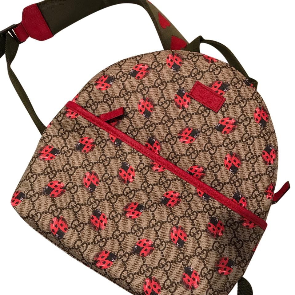 98d06c43ed7 Gucci Children's / Small Adult Ladybug Backpack