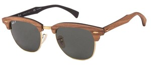 Ray-Ban Ray-Ban Polarized Clubmaster Wood Sunglass RB3016 M11815851