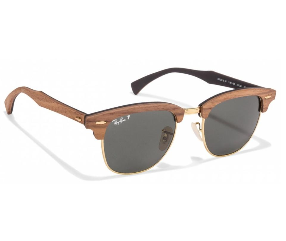 4f92cb28f5 ... Ray-Ban Polarized Clubmaster Wood Sunglass RB3016 M11815851 Image 3.  1234