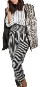 Philosophy di Lorenzo Serafini Casual Striped Trouser Pants Multicolor