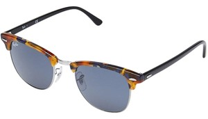 Ray-Ban Ray-Ban CLUBMASTER - SPOTTED BLUE HAVANA Frame GREY Lenses 51mm RB3016