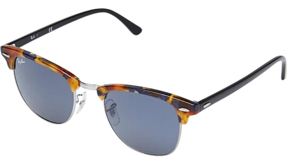 08e11c1168 ... australia ray ban ray ban clubmaster spotted blue havana frame grey  lenses 51mm rb3016 c6aa0 7ceb4