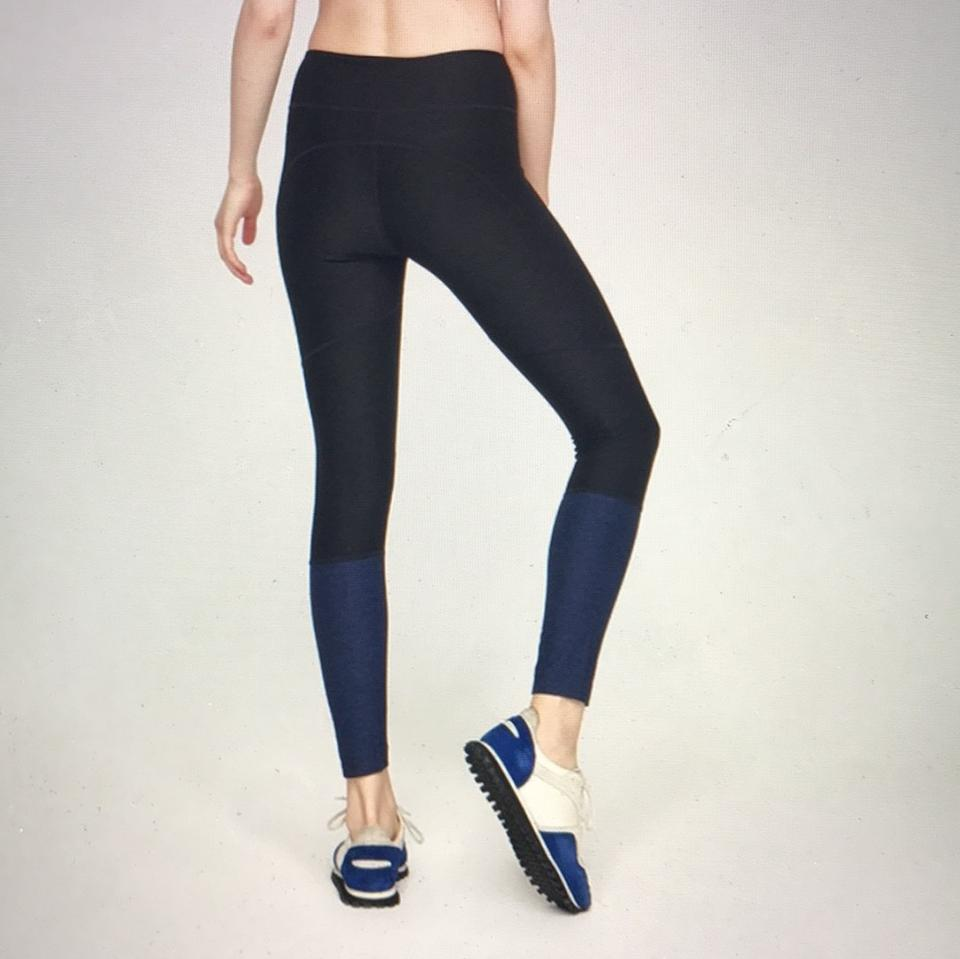 18d99a56a25ee Outdoor Voices Charcoal & Navy Dipped Warmup Activewear Bottoms Size ...