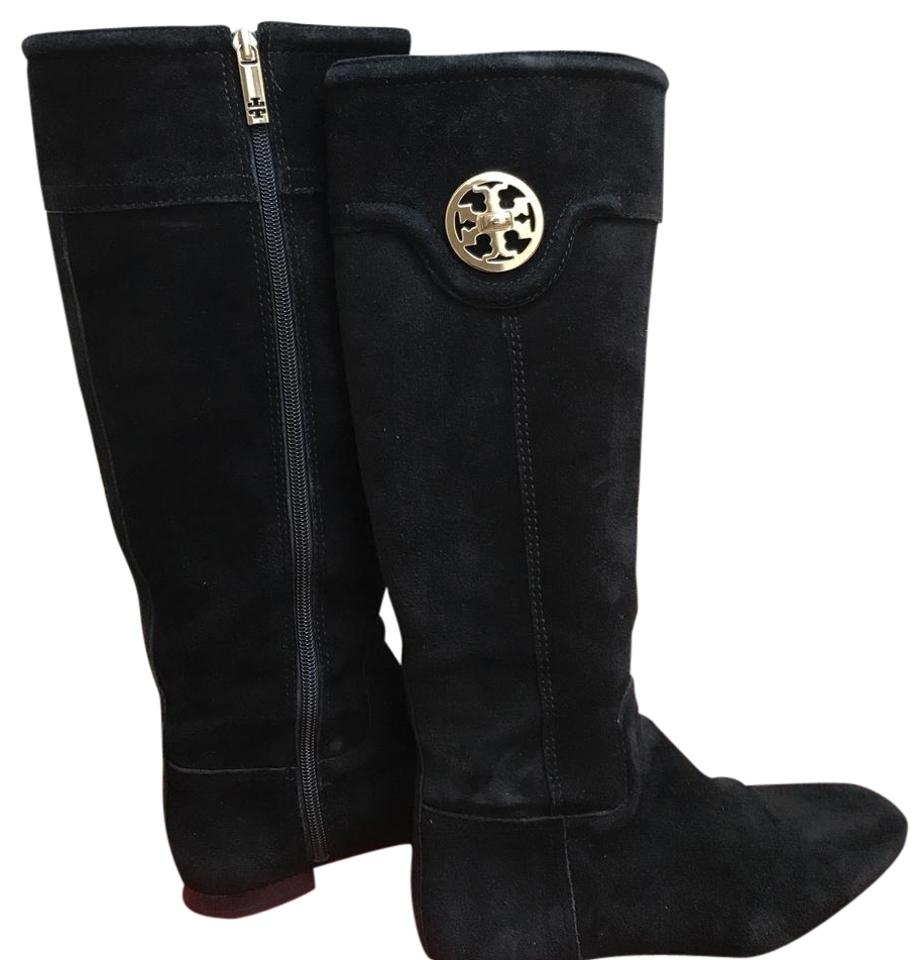 Tory Burch Burch Tory Black Softy Suede Boots/Booties 295791