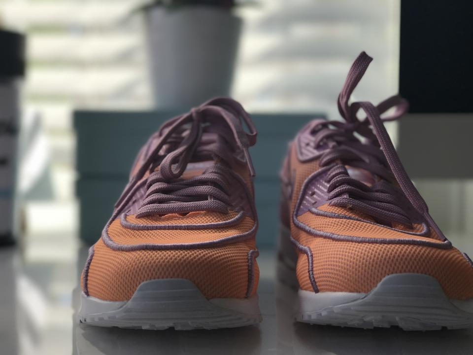 Womens Nike Air Max 90 Ultra 2 Br Sneaker In Sunset Glow Orchid