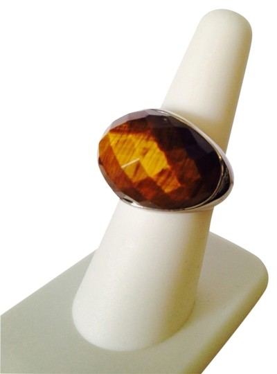 Other NWOT Faceted Tigers Eye Gemstone In Sterling Silver, Size 7
