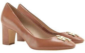 aaf58eef15a2 Brown Tory Burch Pumps - Up to 90% off at Tradesy