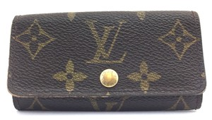Louis Vuitton #14586 Monogram Trofold 4 Ring Key Holder monogram