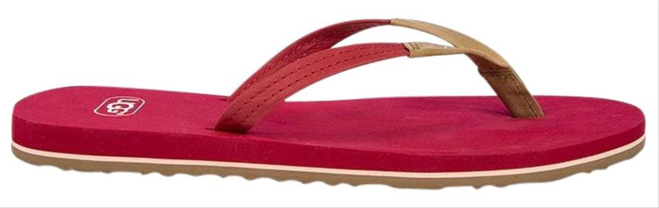 da34a8c348f UGG Australia Tropical Sunset Pink Magnolia Flip Flops #1007563 Flats Size  US 7 Regular (M, B) 22% off retail