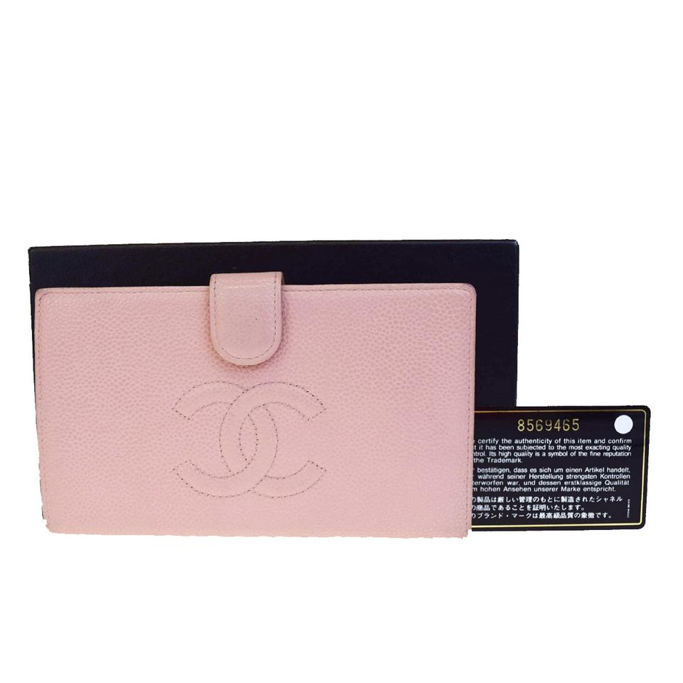 412c34819eed Chanel Pink Long Cc Logo Bifold Wallet - Tradesy