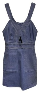 Stella McCartney short dress Blue Denim Denim on Tradesy