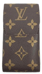 Louis Vuitton #14604 Monogram Car Key Bill credit business card Cigar Holder Wallet