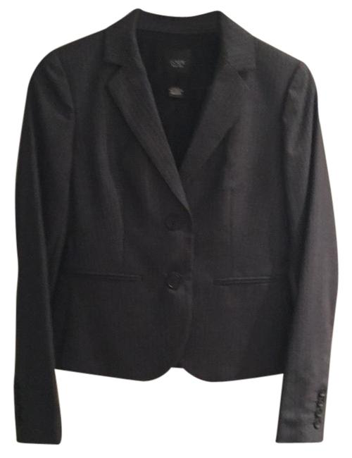 Item - Gray Aubrey Blazer and No. Pencil In Pinstripe Super 120s Wool Skirt Suit Size 2 (XS)