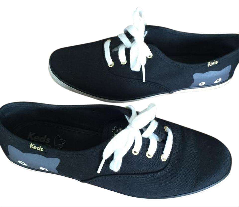 2a1efe9cbbb Keds Black with Gray Taylor Swift Champion Sneaky Cat Sneakers Size ...