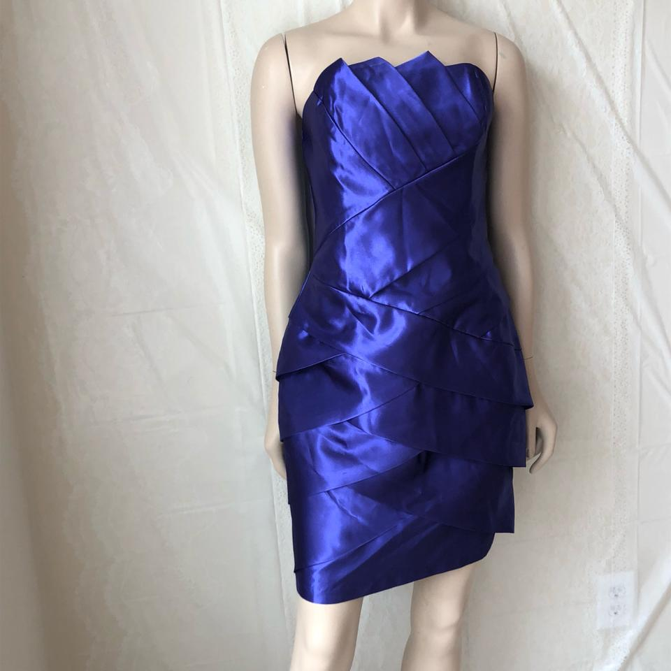 06a0243b79 Jessica McClintock Purple 53379-39 Short Cocktail Dress Size 10 (M) -  Tradesy