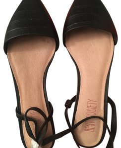 Best Society Black Flats