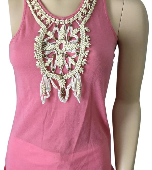 Preload https://img-static.tradesy.com/item/22221267/chloe-pink-embellished-cotton-sleeveless-night-out-top-size-6-s-0-1-650-650.jpg