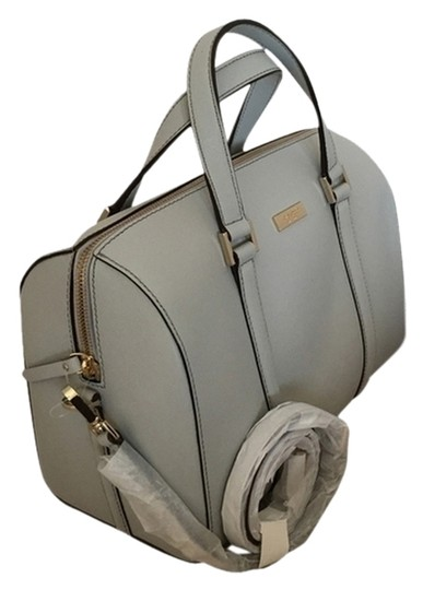Kate Spade Satchel in grey light smoke