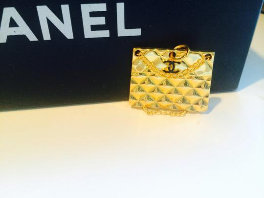 Chanel Mini quilted authentic Chanel purse pendant