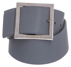 BVLGARI Bvlgari Light Blue Oversized Buckle Belt 36