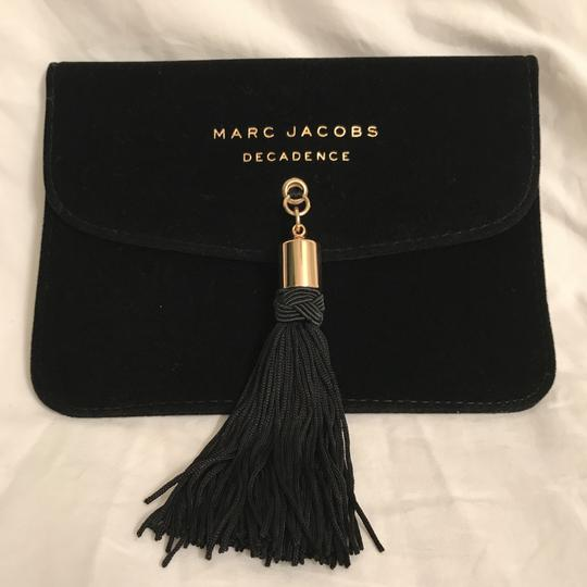 Marc Jacobs NWOT Velvet Fringe/Tassel W/Free Canvas Tote Jewelry/Clutch/Makeup Image 1