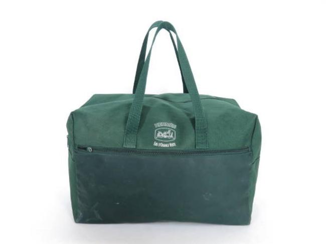 Item - Duffle Extra Large Boston 222286 Green Canvas Weekend/Travel Bag