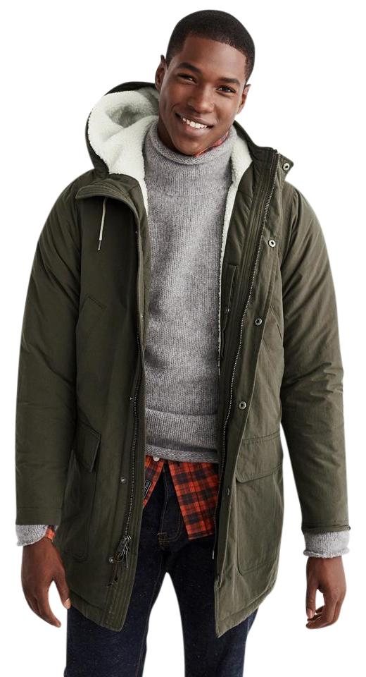 dfb39f9a Abercrombie & Fitch Zara Topshop Madewell Anthropologie Allsaint olive green  khaki Jacket Image 0 ...