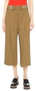 A.L.C. Culottes Gaucho Belted Belted Wide Leg Pants Carmel