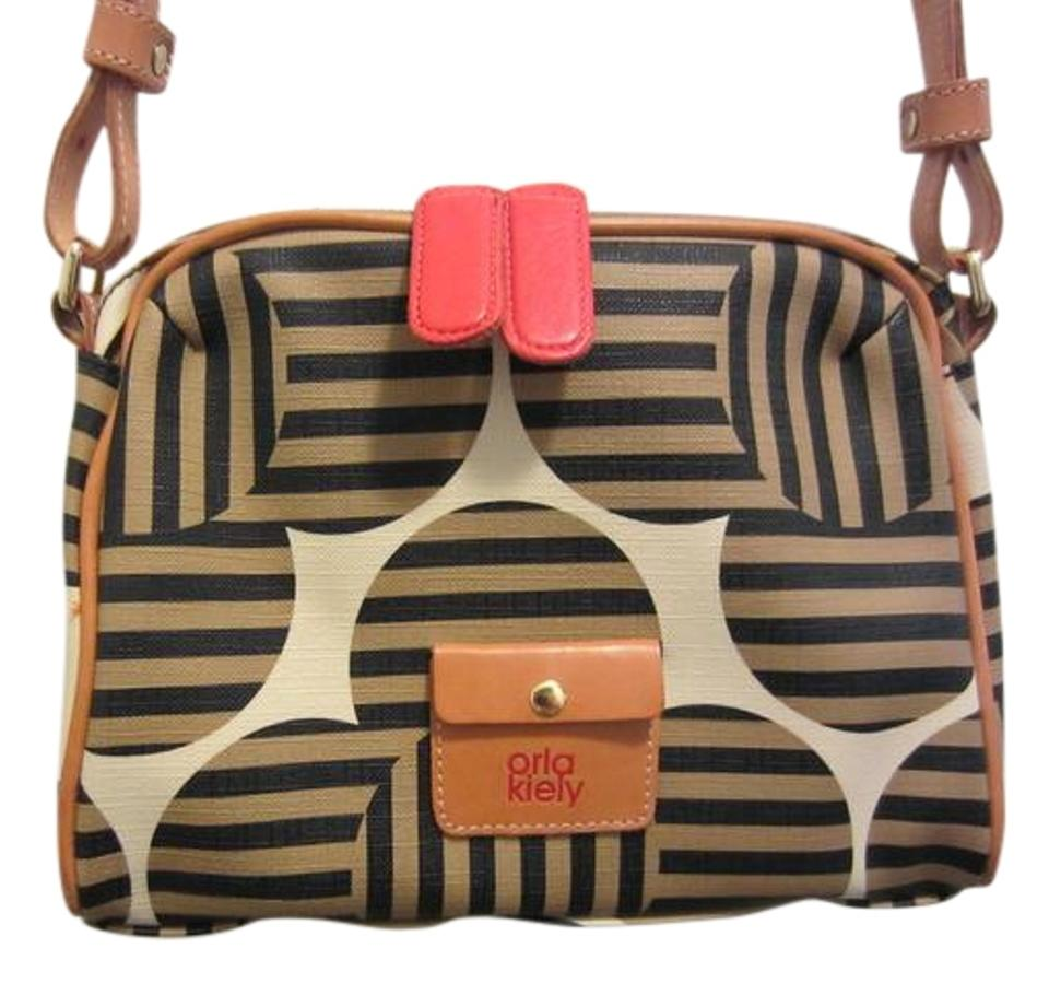 Beige Orla Kiely Cross Body Bags - Up to 90% off at Tradesy 9cc2e7f64d