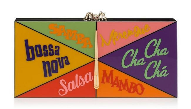 Item - It Takes Two Multi-color Perspex Clutch