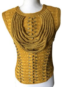 Balmain x H&M Top Yellow and Gold