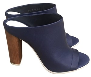 Vince Navy Mules