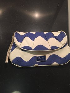 Felix Rey Blue and White Clutch