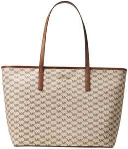 Michael Kors Tote in Natural/Luggage