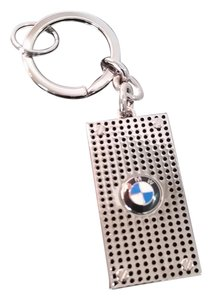 BMW BMW perforated chrome plated key chain