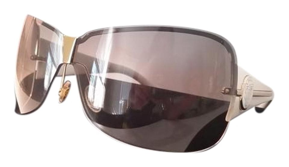 5e2a63f5d98 Gucci Gucci Rimless Shield Sunglasses Image 0 ...