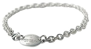 Tiffany & Co. Retired Oval tag chocker