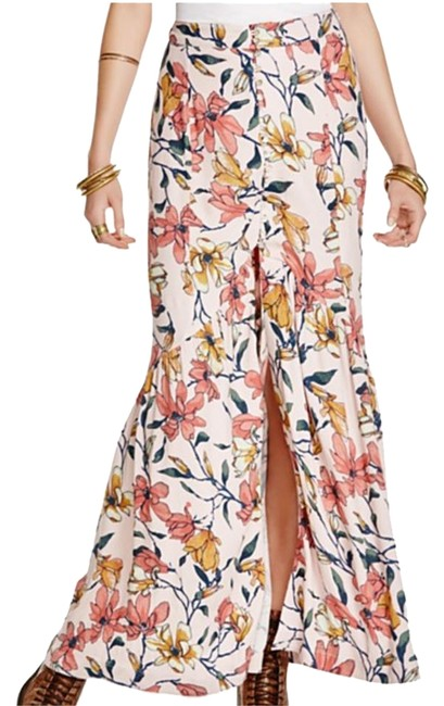 Item - Floral Smooth Sailing Skirt Size 4 (S, 27)