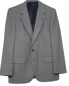 Burberry Burberry Men 2 buttons 100% Wool Gray Suit Coat