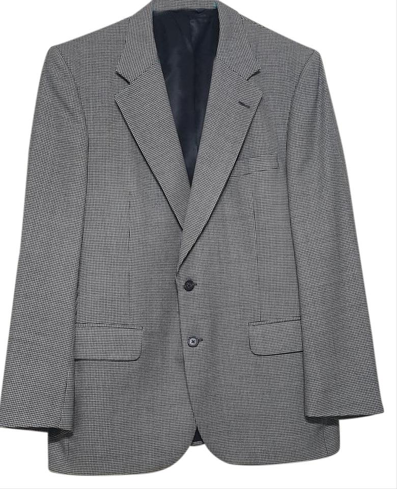 Burberry Grey 2 Buttons Wool Coat Pant Suit Size 10 M Tradesy