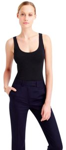 J.Crew Work Stretchy Office Suit Top Black