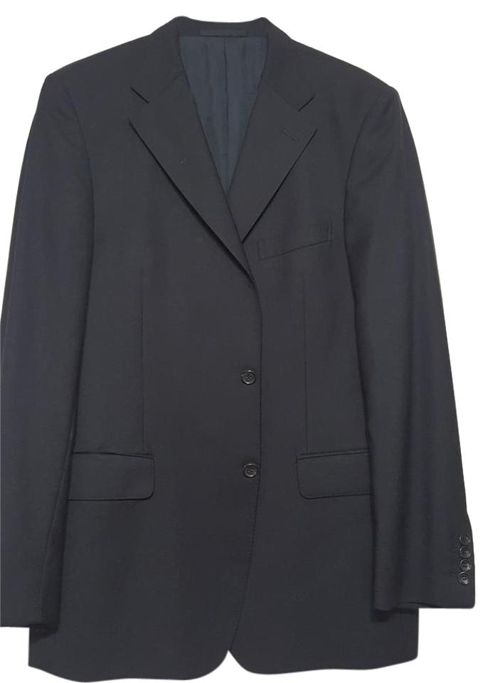 b0591146c5b Gucci GUCCI Men s Blacke Wool Suit Jacket Size 54 R ...