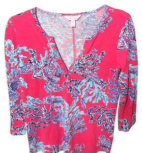 Lilly Pulitzer Top Pink, blue