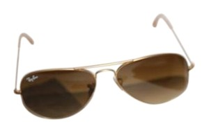 Ray-Ban RAY BAN RB3025 Large Metal Aviator Sunglasses