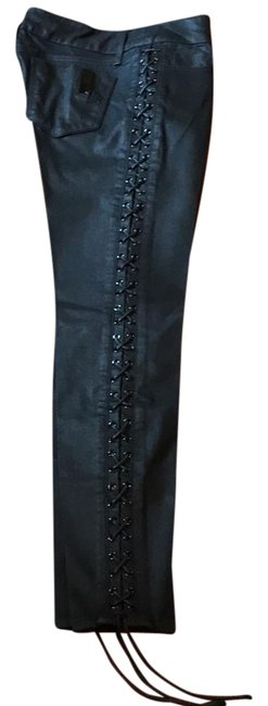 Black Orchid Denim Skinny Jeans-Coated