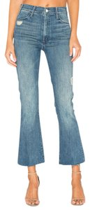 Mother Boot Cut Jeans-Distressed