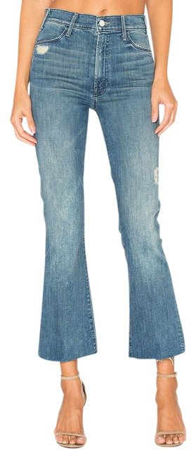Item - Graffiti Girl Distressed Hustler Ankle Fray In Boot Cut Jeans Size 30 (6, M)